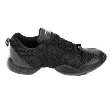 Bloch 524 Criss Cross Tanz Sneaker Schwarz Größe 40.5 -