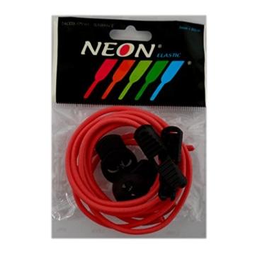 Kit Elastische Schnürsenkel ohne Knoten und Verriegelungs leicht 80cm (rot) -