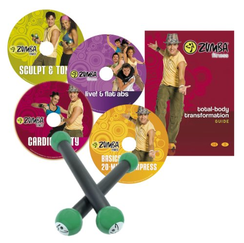 Zumba Fitness®  DVD Programm Basis Set -