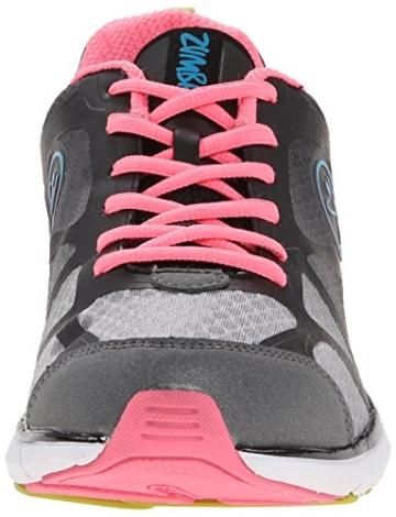 Zumba Fitness Fly Fade Schuhe, damen, Fly Fade, schwarz, 37.5 -