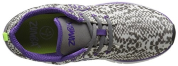 Zumba Fitness Fly Print Schuhe, damen, Fly Print, White/Grey/Purple, 40 -