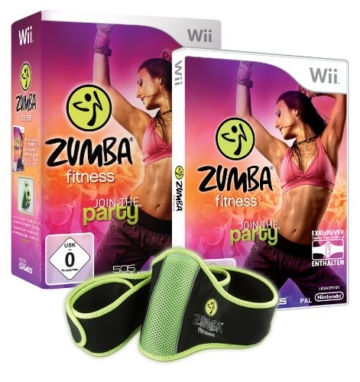 Zumba Fitness - Join the Party (inkl. Fitness - Gürtel) - [Nintendo Wii] -
