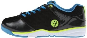 Zumba Footwear ZUMBA ENERGY PUSH, Damen Hallenschuhe, Schwarz (Black/Black), 41 EU (7 Damen UK) -