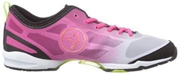 Zumba Footwear Zumba Flex II, Damen Hallenschuhe, Pink (Pinkadelic/Black), 36.5 EU (3.5 Damen UK) -