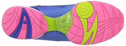 Zumba Footwear Zumba Flex II High, Damen Hallenschuhe, Blau (Blue/Pink), 40.5 EU (6.5 Damen UK) -