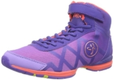Zumba Footwear Zumba Flex II Remix High, Damen Hallenschuhe, Violett (Purple/Neon Orange), 39 EU -