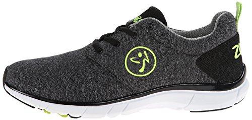 Zumba Footwear Zumba Fly Print, Damen Hallenschuhe, Schwarz (Black), 37.5 EU -