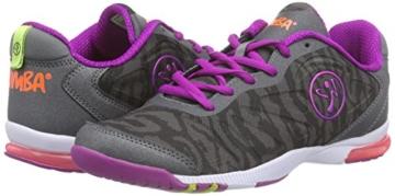 Zumba Footwear Zumba Impact Pulse, Damen Hallenschuhe, Grau (Graphite Camo), 41 EU -