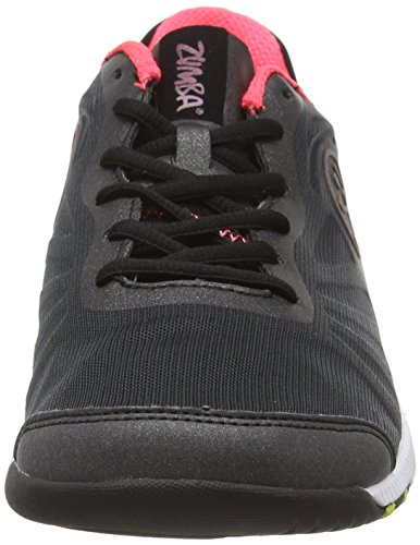 Zumba Footwear Zumba Impact Pulse, Damen Hallenschuhe, Pink (Black/Neopulse), 42 EU (7.5 Damen UK) -
