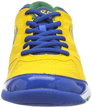 Zumba Footwear ZUMBAIMPACT MAX, Damen Hallenschuhe, Gelb (Yellow/Nautical Blue), 38.5 EU (5 Damen UK) -