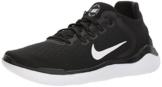 Nike WMNS NIKE FREE RN 2018, Damen Laufschuhe, Schwarz (Black/White 001), 38.5 EU (5 UK) - 1